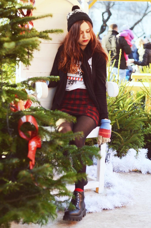 świąteczny outfit
