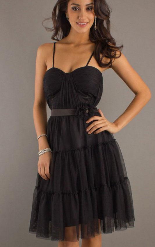 Spaghetti-Straps-Black-Organza-Fabulous-Prom-Dresses-18567-2