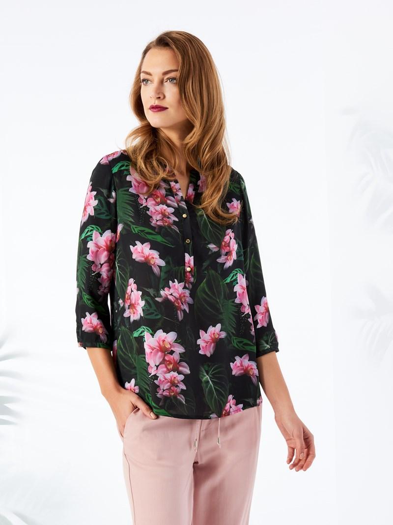 koszula w kwiaty mohito