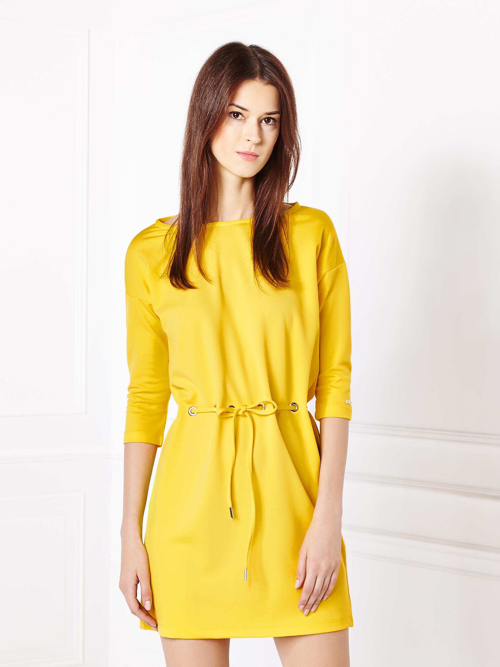 mohito żółta sukienka