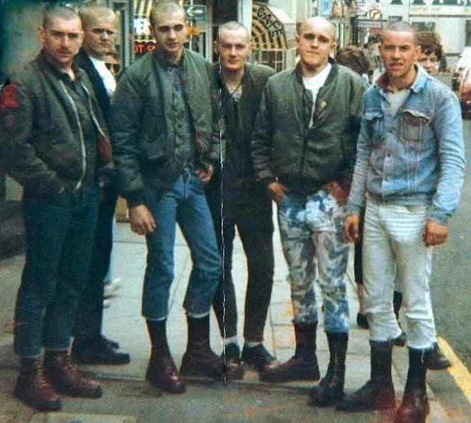 skinheadzi w bomberach