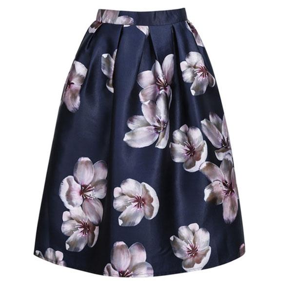spódnica w kwiaty dresslink