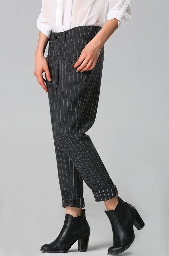 spodnie garniturowe oversize dresslink