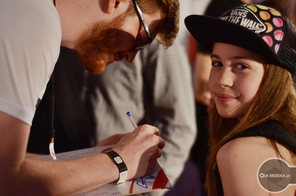 Strefa autografów OVF 2016