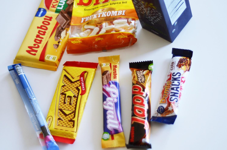 słodyczy ze szwecji