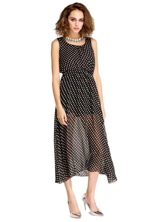 sukienka w kropki dresslink
