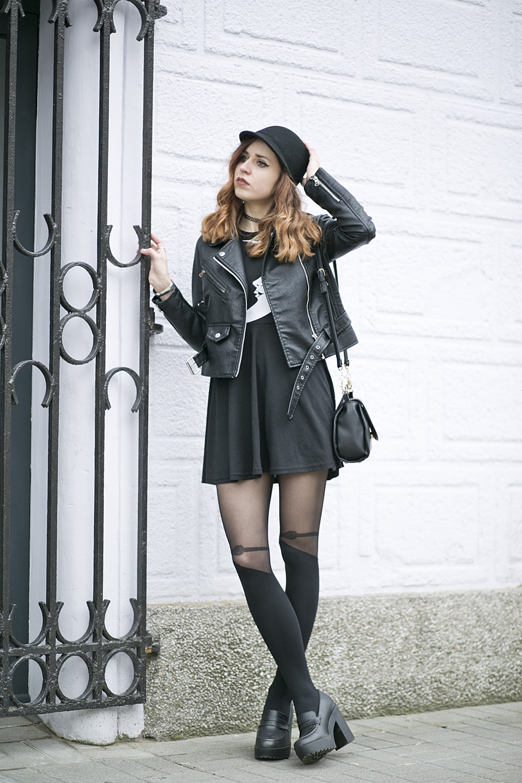 ramoneska outfit