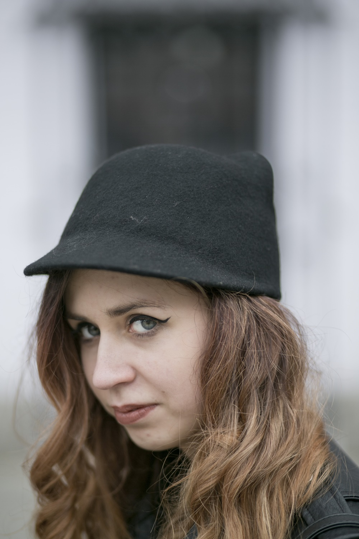 kapelusz z uszami