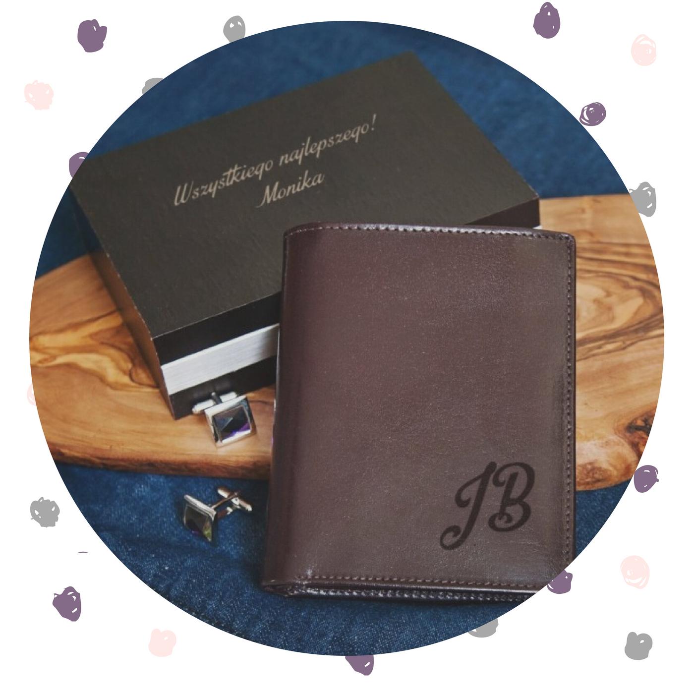 dzień ojca pomysł na prezent portfel