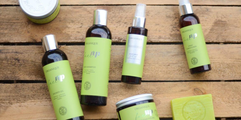 Wegańskie kosmetyki do pielęgnacji marki Organique. Recenzja energetyzujących kosmetyków z serii Feel Up