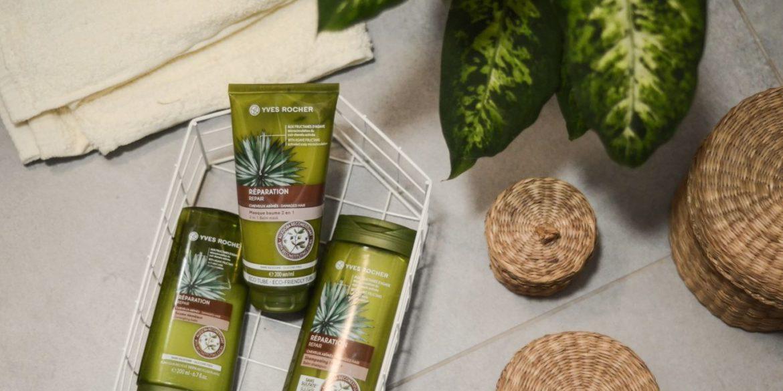 Nowość od Yves Rocher – odbudowujące kosmetyki do włosów z dodatkiem fruktanów agawy