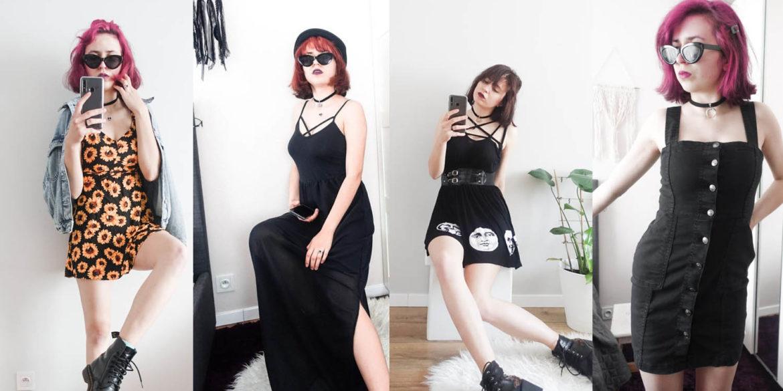 5 rockowych stylizacji na lato z ubrań z drugiej ręki
